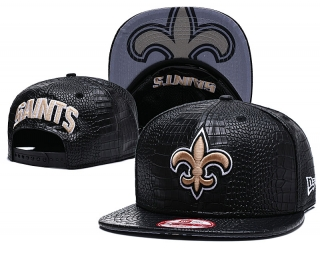 96a2b9ce Buy NFL New Orleans Saints Leather Snapback Hats 54439 Online - Hats ...