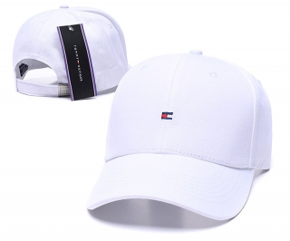Tommy Curved Brim Snapback Cap 60525