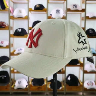 MLB New York Yankees Curved Brim Snapback Cap 61646